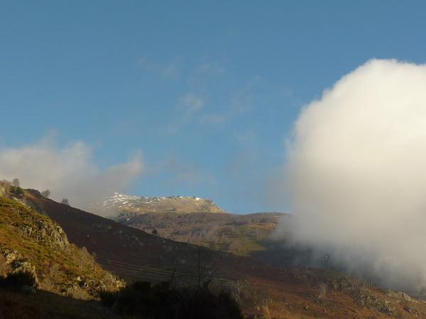 Le Saint Barthélémy, au dessus de notre gîte de montagne en vallée d'Ariège