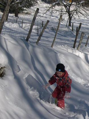 Notre gîte de montagne, pour profiter de la neige