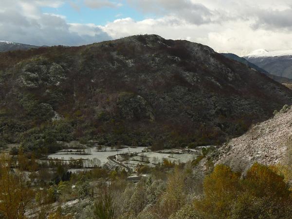 Gîte en montagne certes... mais peu de neige pour le moment !