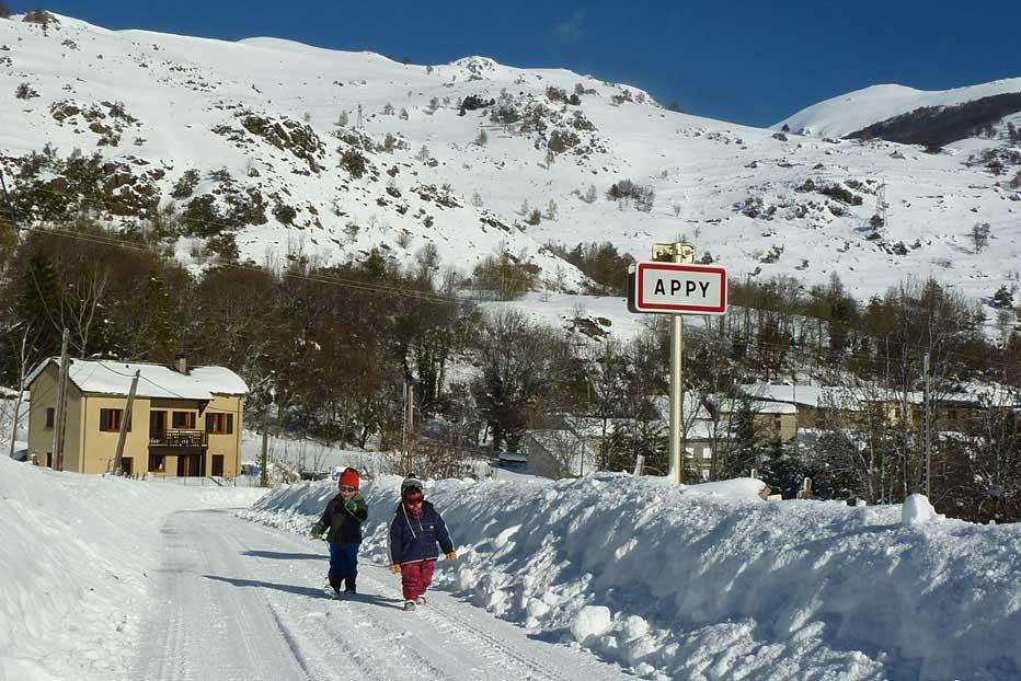 Gîte en vallée d'Ax, Haute Ariège, au sud de toulouse, pour des vacances à la neige en famille !